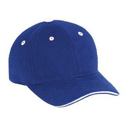 - Otto Cap Superior Brushed Cotton Twill Sandwich Visor Low Profile Style Caps - Hat / Cap for Summer, Sports, Picnic, Casual wear and Reunion etc