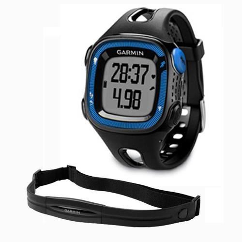 Garmin Forerunner 15 GPS Running Watch & HRM w/Extra Char...