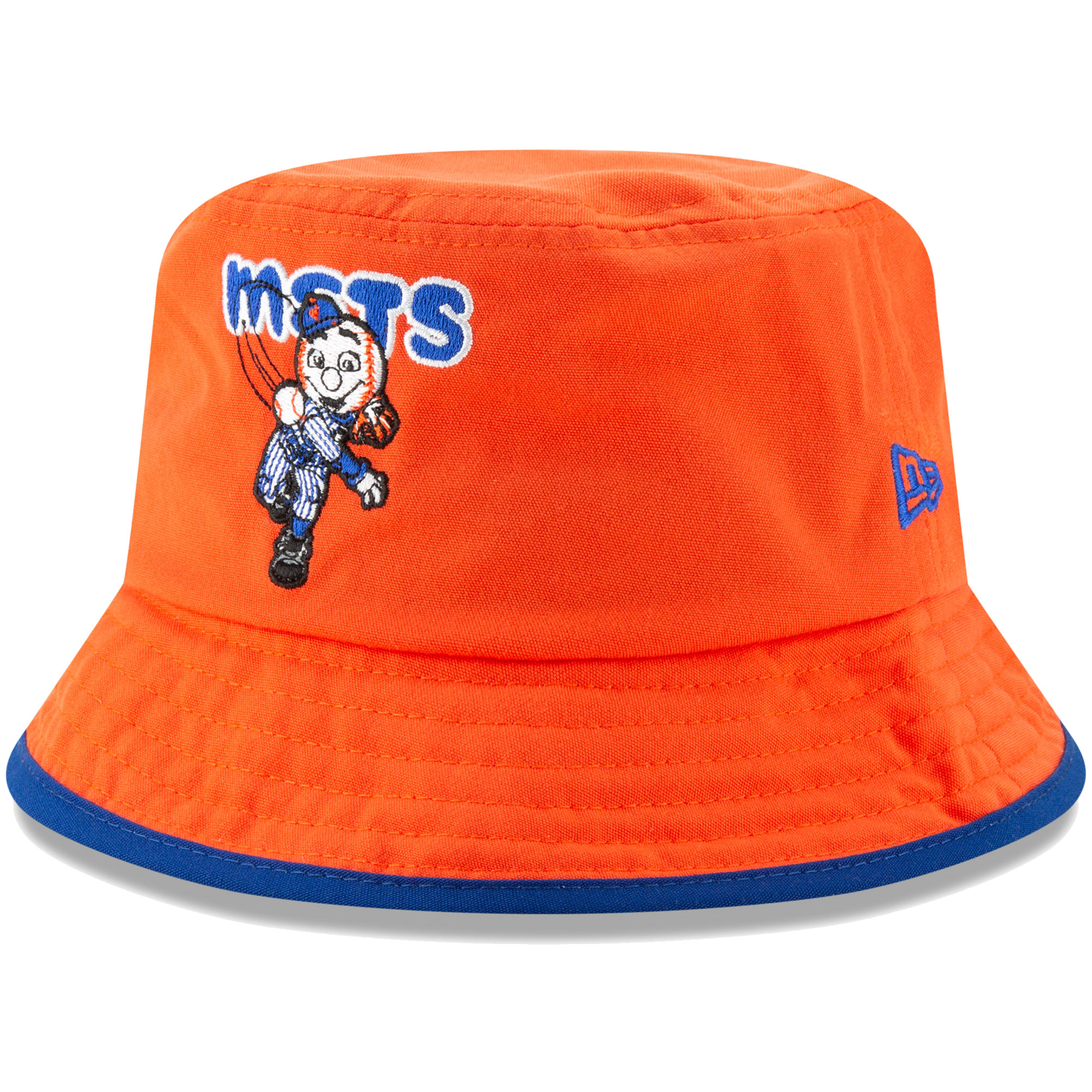 New York Mets New Era Infant Bind Bucket Hat - Orange - OSFA