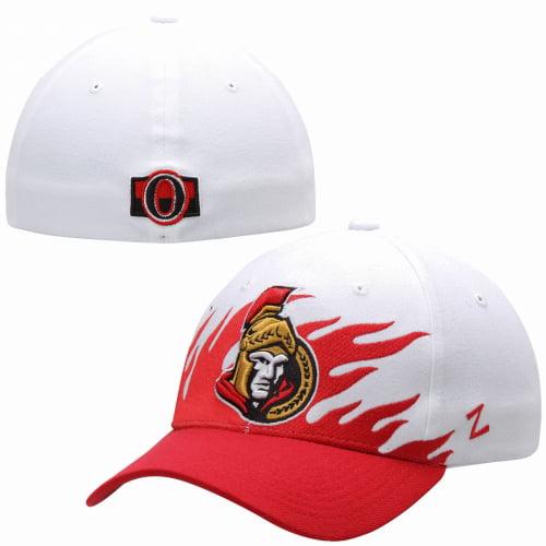Ottawa Senators Zephyr Flame Flex Hat - White