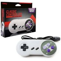 TTX nxsnes-002 SNES Wired Classic Controller, Grey