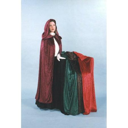 Dickens Velvet Cloak