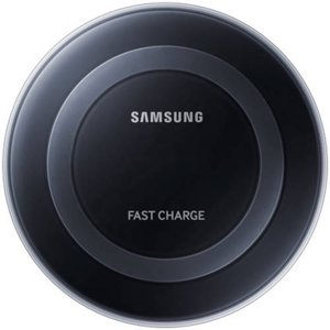 Samsung Qi Certified Fast Charge Wireless Charging Pad with 2A Wall Charger -Supports wireless charging on Qi compatible smartphones including the Samsung Galaxy S8, S8+, Note 8, Apple iPhone 8, and 8 Plus (US Version With Warranty) - Black