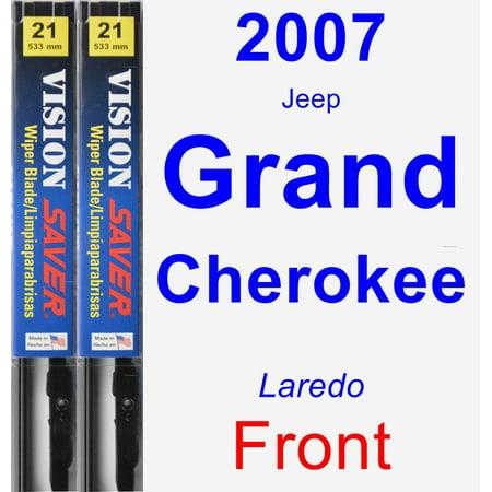 2007 Jeep Grand Cherokee (Laredo) Wiper Blade Set/Kit (Front) (2 Blades) - Vision