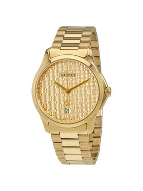 273ed9c1c65 Product Image G-timeless Gold Dial Quartz Unisex Watch YA126461. Gucci