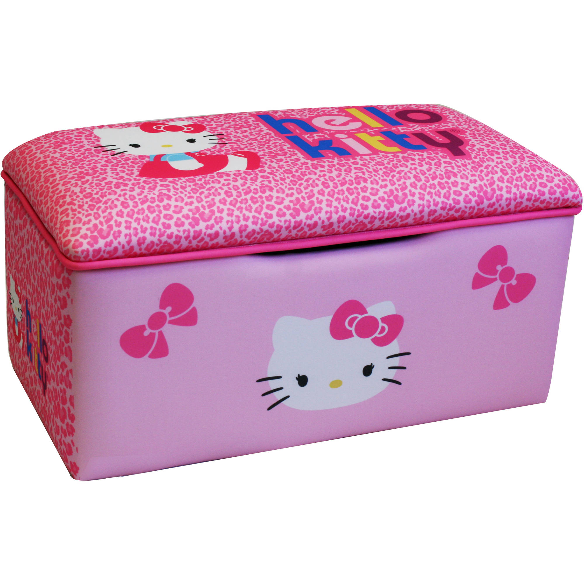Hello Kitty Bows Small Toy Box