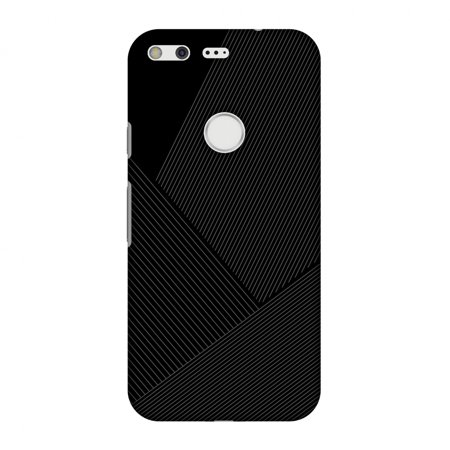 - Google Pixel Case, Premium Handcrafted Designer Hard Shell Snap On Case Printed Back Cover with Screen Cleaning Kit for Google Pixel, Slim, Protective - Carbon Fibre Redux 1