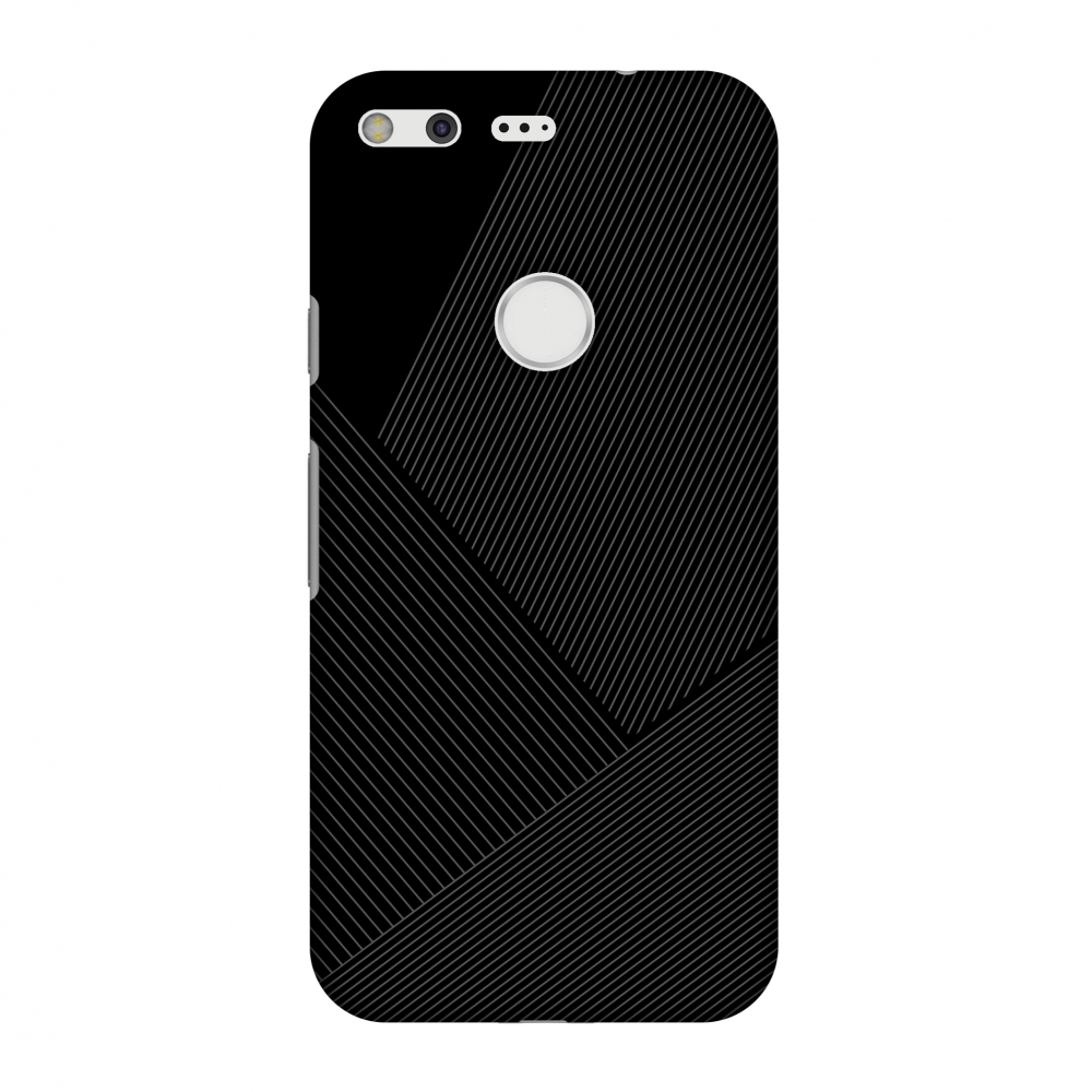 Google Pixel Case, Premium Handcrafted Designer Hard Shell Snap On Case Printed Back Cover with Screen Cleaning Kit for Google Pixel, Slim, Protective - Carbon Fibre Redux 1