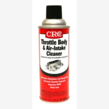 CRC Industries 05078 Throttle Body and Air-Intake Cleaner -  Wt. 12 oz. (Crc Hydroforce Degreaser)