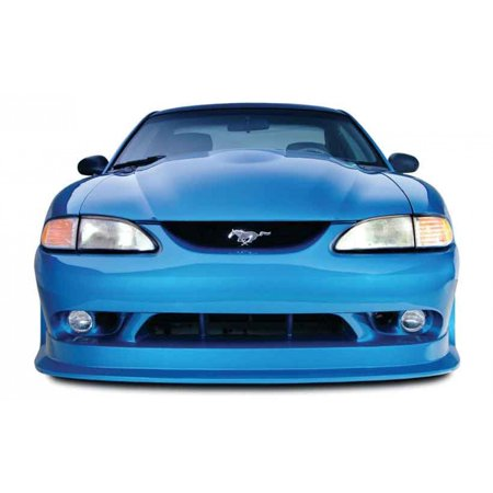 Ford Mustang Replacement Bumper (Ford Mustang 1994-1998 Cobra R Style 1 Piece Polyurethane Front Bumper)