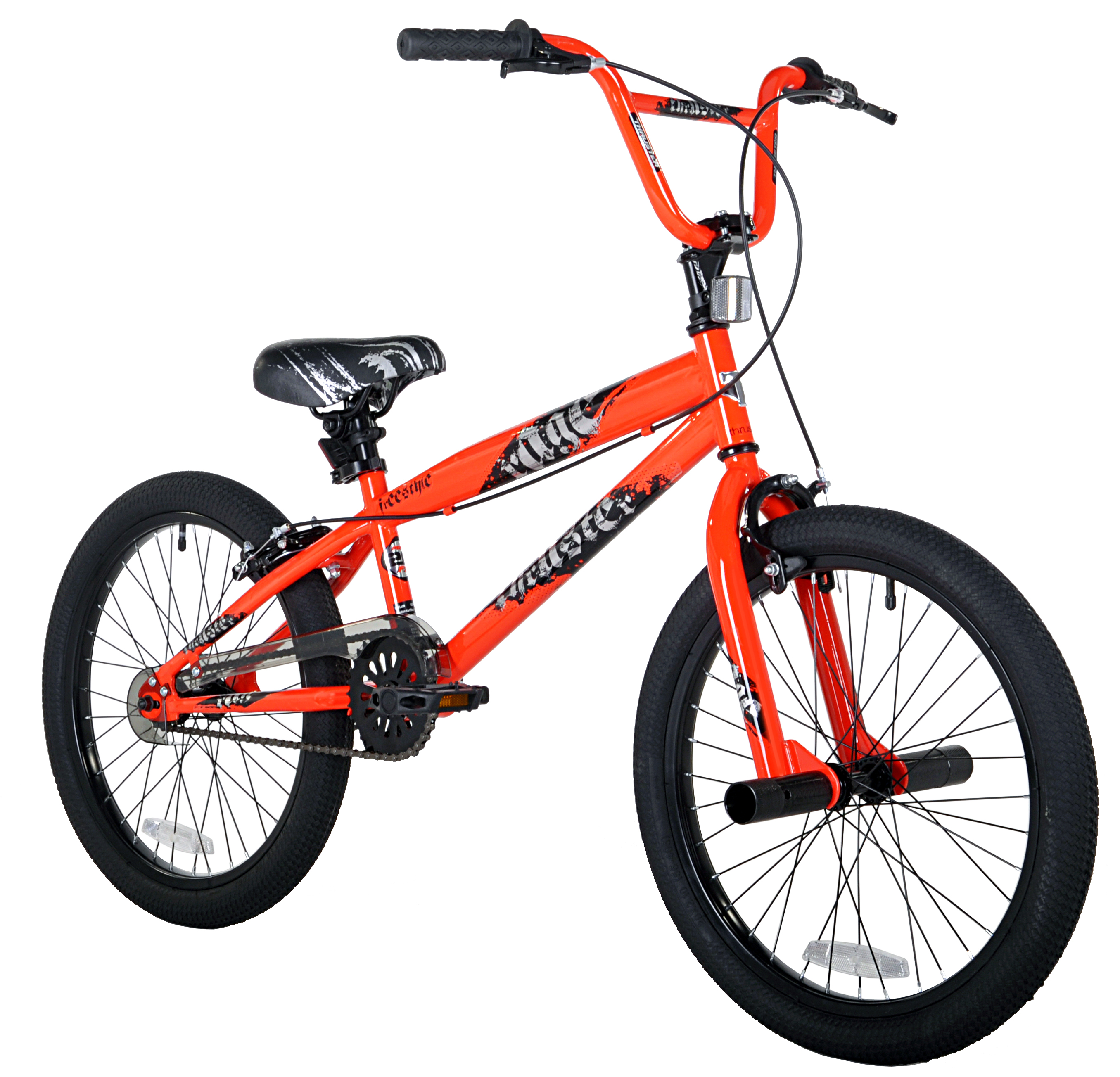 "Kent 20"" Boys', Rage BMX Bike, Orange, For Ages 8-14"