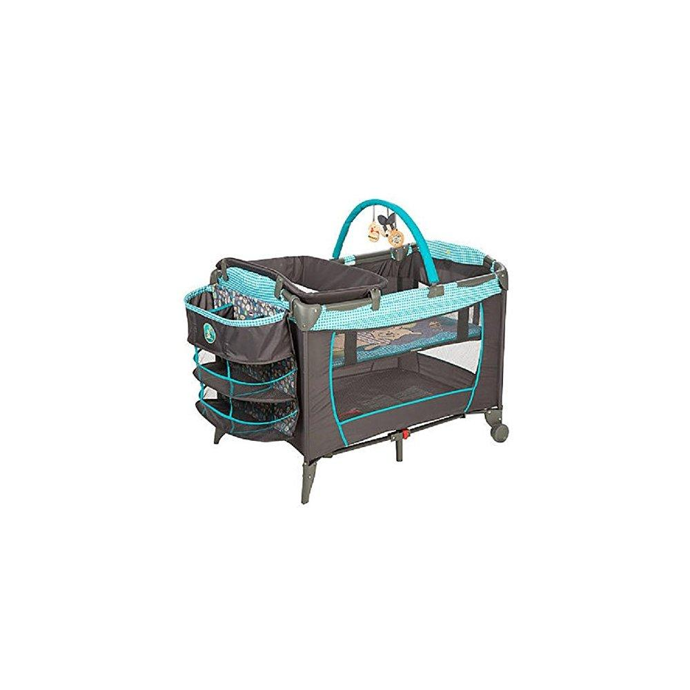 Disney baby, infant play yard, play pen with changing sta...