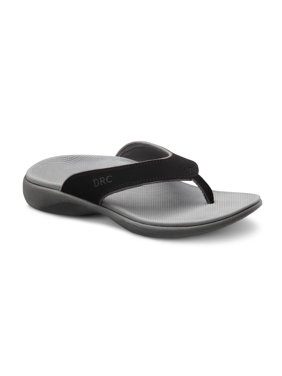 Dr. Comfort Shannon Women's Orthotic Support Sandals - Black