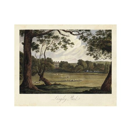 The English Countryside IV Print Wall Art By James Hakewill ()