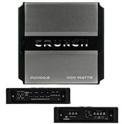Crunch Power Drive PD1100.2 Bridgeable Amplifier (1,100 Watts Max)