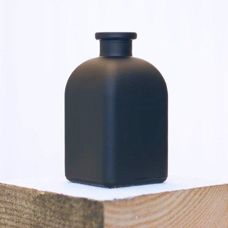 2 Pcs Table Decor Chalkboard Bud Vase Tall Rectangle Glass Bottle