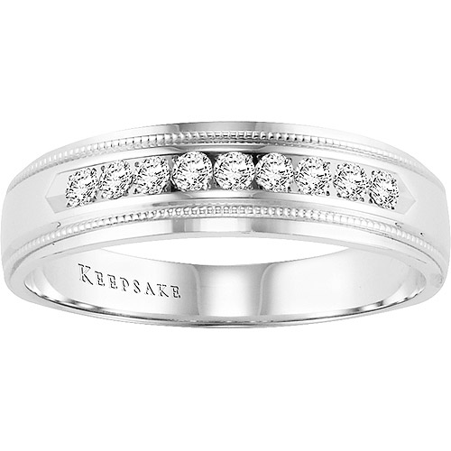 Keepsake Hampton 1/5 Carat T.W. Diamond, 14kt White Gold Ring