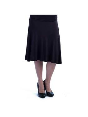 1b0ec0983d 24/7 Comfort Apparel Womens Skirts - Walmart.com