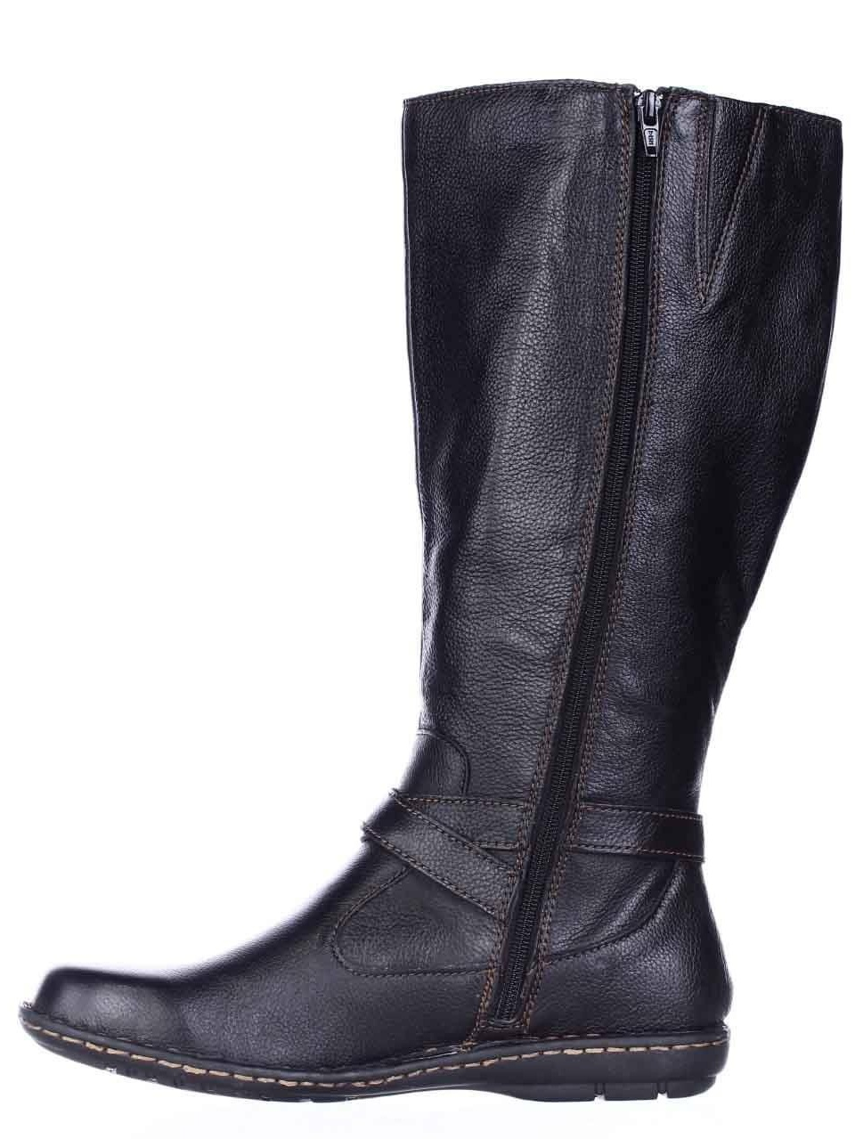 B.O.C Toe Womens Barbana Leather Round Toe B.O.C Mid-Calf Fashion Boots ad7afc