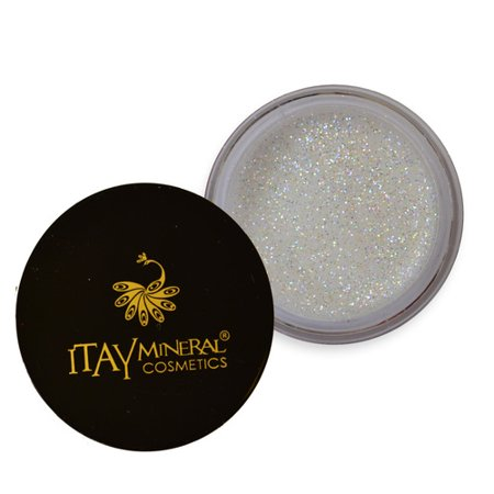Itay Mineral Cosmetics Eye Shadow Glitter White -