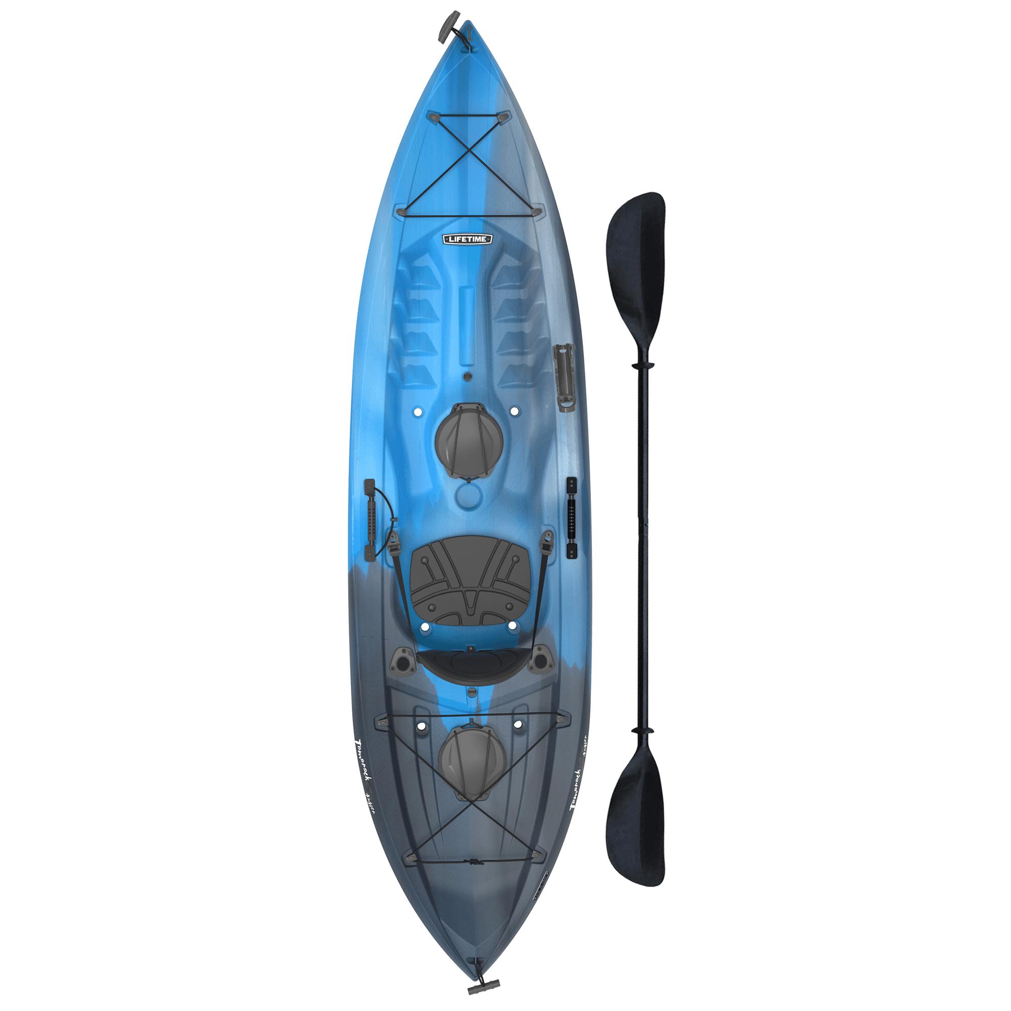 Lifetime Tamarack Angler 10 Ft Fishing Kayak Paddle Included 90818 Walmart Com Walmart Com