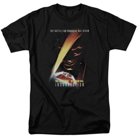Star Trek-Insurrection-Movie - Short Sleeve Adult 18-1 Tee - Black, Medium - image 1 of 1