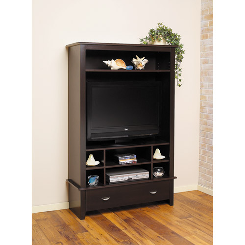 Vertical Entertainment Center, Black Forest, for TVs up to 35""
