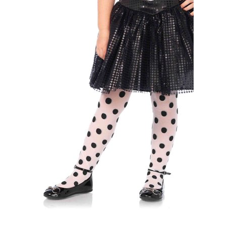 Dotted Tights - Children's Polka Dot Tights, Small, Age 1-3
