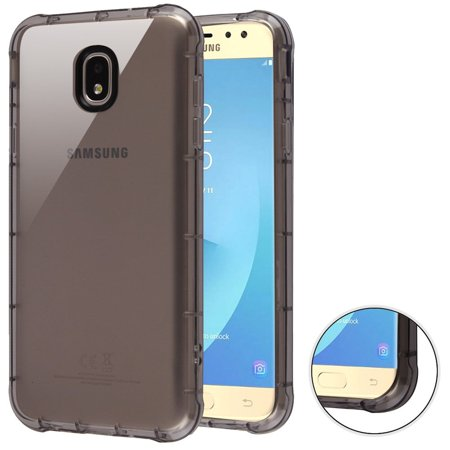 2nd Generation Cases (Samsung Galaxy J7 2018 case J7 Refine case J7 V 2nd generation case by Insten Corner Guard TPU Rubber Candy Skin Clear Case Cover For Samsung Galaxy J7 (2018)/J7 Refine/J7)