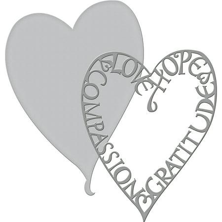 Spellbinders Shapeabilities Dies-Love Frame - Walmart.com