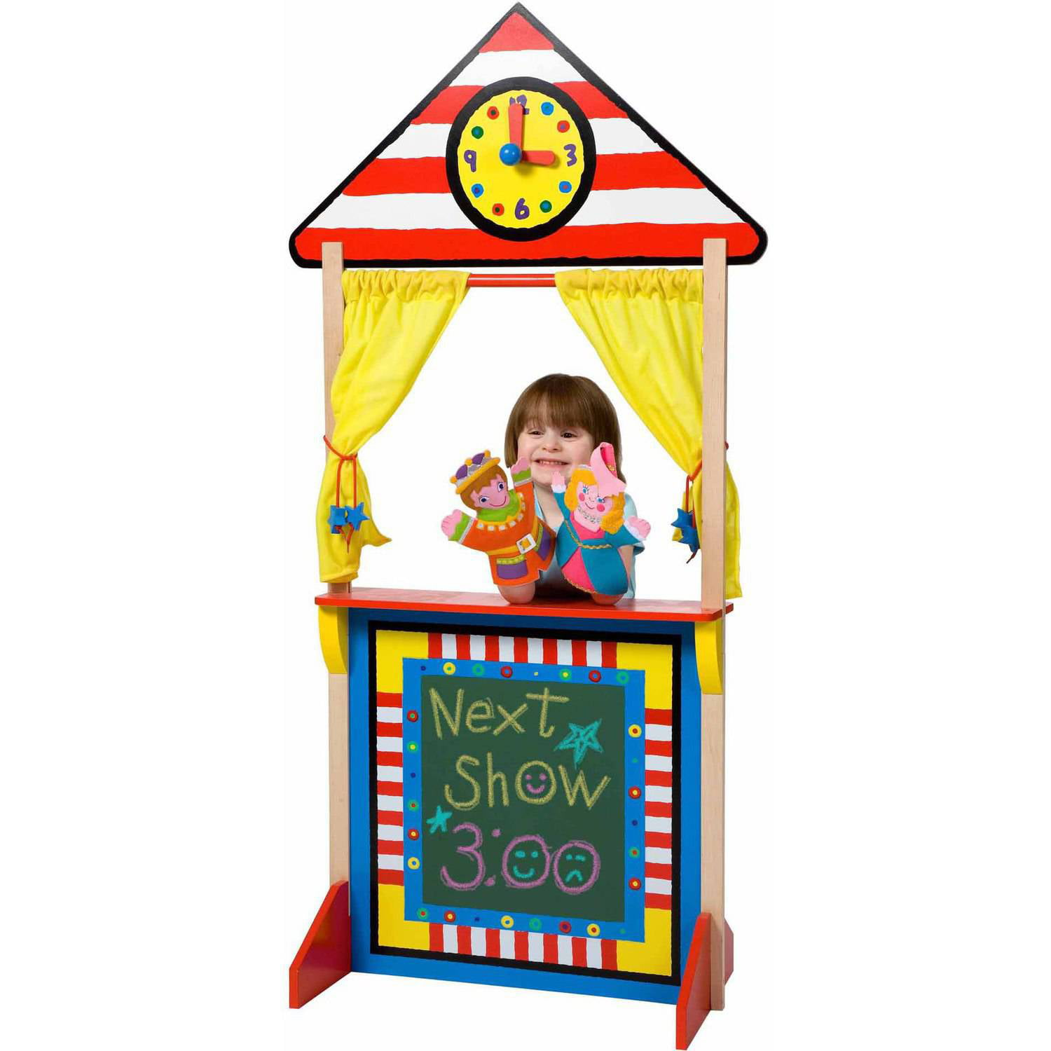 ALEX Toys Floor Standing Puppet Theater by Poof-Slinky