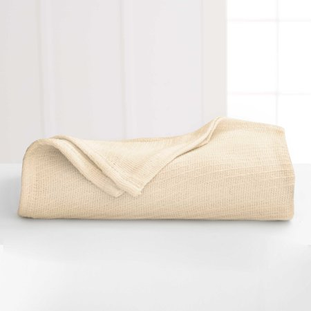 Martex Diagonal Weave Lightweight Layer Cotton (Best Natural Fiber Blanket)