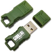 EP Green Mini GorillaDrive 64GB Rugged USB Flash Drive