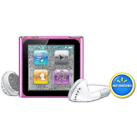 apple ipod nano 6th generation 8gb assorted colors. Black Bedroom Furniture Sets. Home Design Ideas