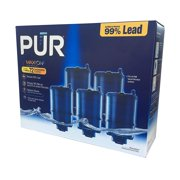 PUR Faucet Mount Replacement Water Filter, Blue, 5 Pack