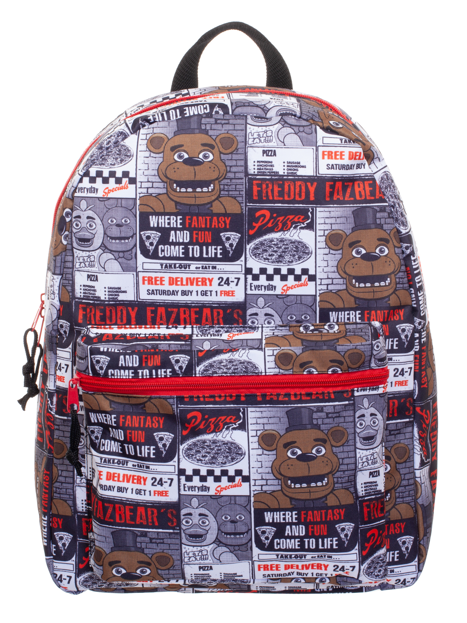 "Five Nights at Freddy's All-Over Print 16"" Backpack"