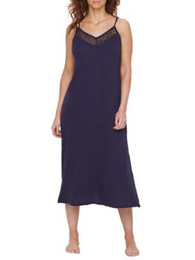 Donna Karan Womens Cotton Luxe Knit Nightgown Style-D367304