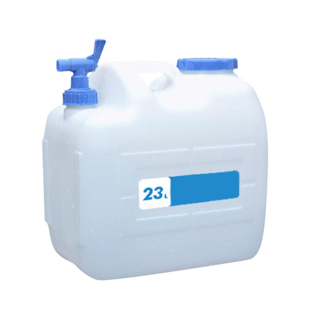 Outdoor Picnic Water Bucket Barrel Car Driving Water Tank Container with Faucet