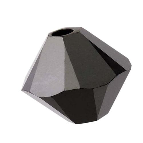 Swarovski Crystal, #5328 Bicone Beads 2.5mm, 20 Pieces, Jet