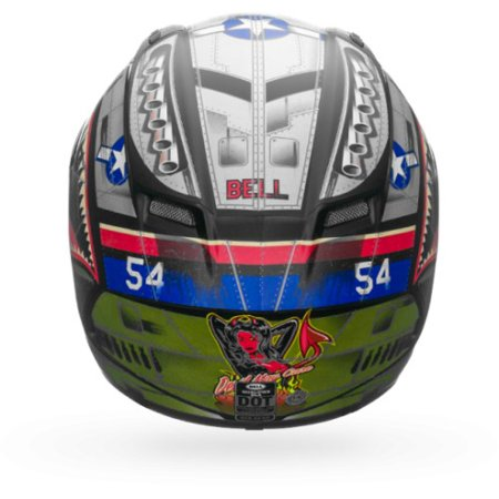Helmet Small Matte (Bell Qualifier DLX Full-Face Motorcycle Helmet (Matte Devil May Care, Small))