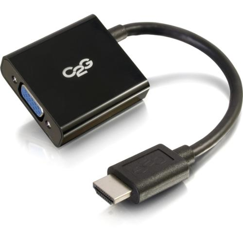 C2G HDMI to VGA Adapter Converter Dongle for Laptops and Tablets - M/F