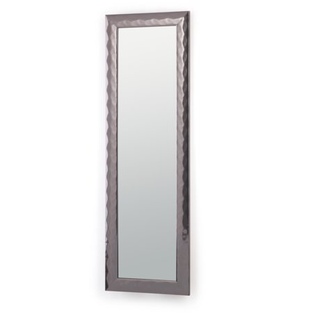 Brooklyn + Max Mika 53 inch x 17 inch Rectangle Transitional Large Décor Mirror in Pewter ()