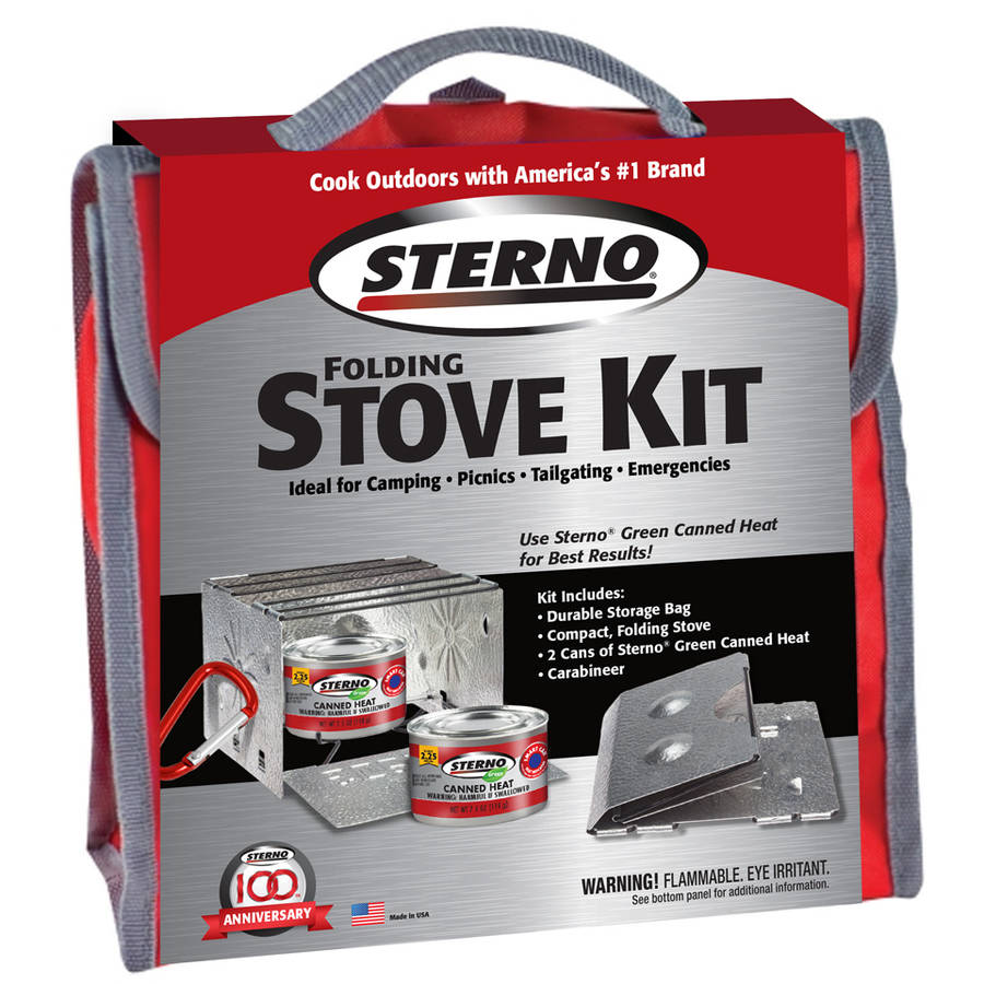 Sterno 70160 Outdoor Overnight Stove Kit