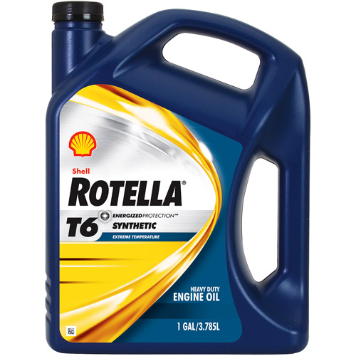 Shell Rotella Full Synthetic 5W-40 Motor Oil, 1 gal.