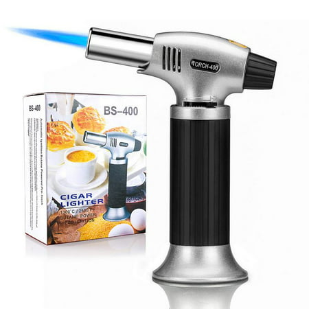 Hot Sale Culinary Torch - Kitchen Torch - Best Creme Brulee Torch - Food Torch - Cooking Blow Torch - Butane Torch For Cooking - Blow Torch (Without Butane Gas) (Butane Gas Torch)