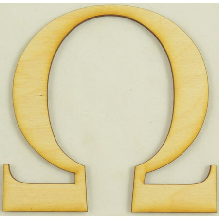 Omega Greek Letter Size:3 Inch Thickness:1/4
