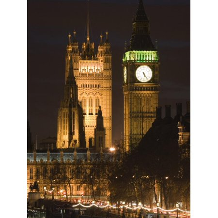Houses of Parliament, London, England Print Wall Art By Walter Bibikow