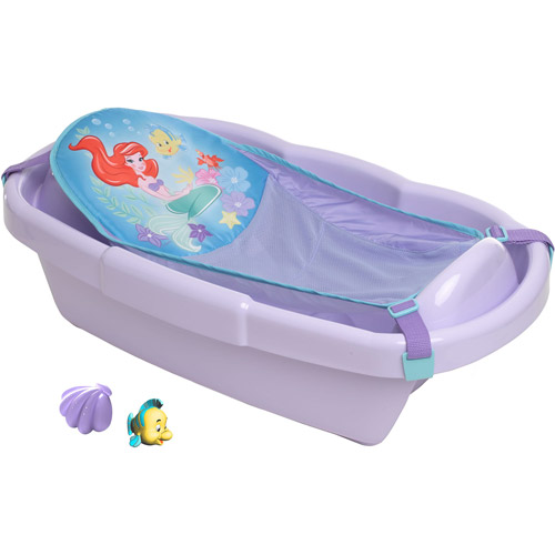 Merveilleux Disney Ariel Bathtub With Toys