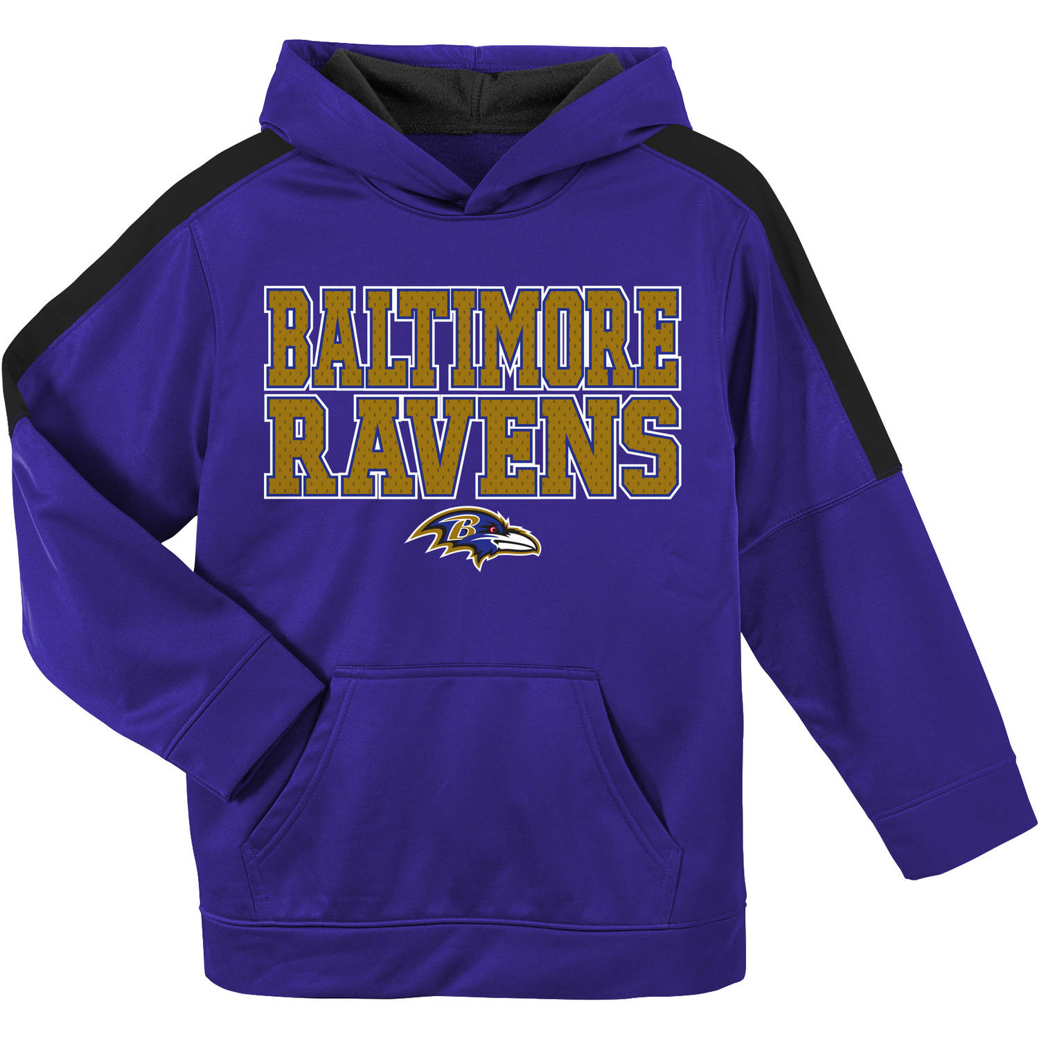 NFL Baltimore Ravens Youth Hooded Fleece Top