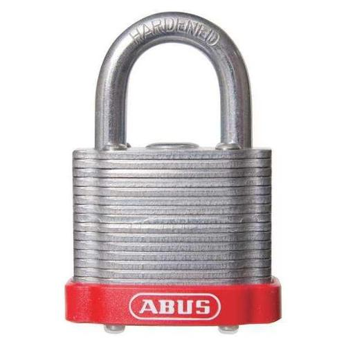 "ABUS 19307 Keyed Padlock,Different,1-1/2""W,PK6 G3349020"